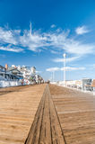 Boardwalk in Ocean City Royalty Free Stock Image