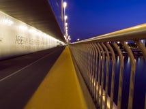 Boardwalk Over Danube Stock Photo