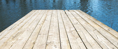 Boardwalk over water Royalty Free Stock Photo