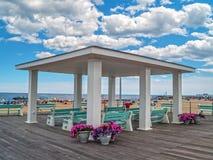 Boardwalk Pavillion Royalty Free Stock Images