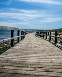 Boardwalk plaża Obrazy Royalty Free