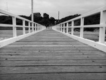 Boardwalk at Point Lonsdale Royalty Free Stock Photo