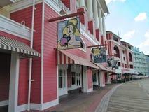 Boardwalk przy Disney Światowy Orlando Floryda Fotografia Stock