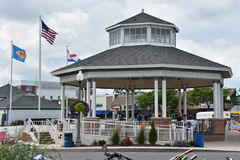 Boardwalk at Rehoboth Beach in Delaware. USA Stock Photography