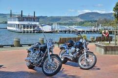 Boardwalk Rotorua Stock Photo