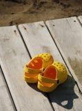 boardwalk sandały Fotografia Stock