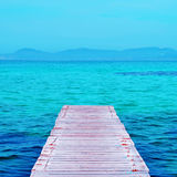 Ses Illetes Beach in Formentera, Balearic Islands, Spain Royalty Free Stock Photos