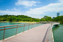 Boardwalk Singapur obrazy royalty free
