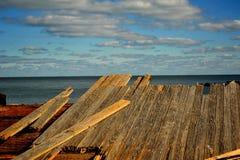 Boardwalk szczątki Zdjęcie Royalty Free