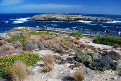 Boardwalk to Admirals Arch. Kangaroo Island, South Australia Stock Photo