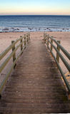 Boardwalk to beach Royalty Free Stock Image