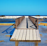 Boardwalk to the beach Stock Photo