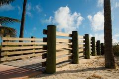Boardwalk to Beach Stock Photo