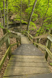 Boardwalk To Bridal Veil Waterfall Royalty Free Stock Images