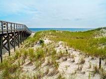 Boardwalk to the Sea Royalty Free Stock Photography