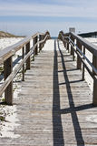 Boardwalk To The Sea Stock Photography