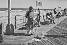 Boardwalk Uliczna osoba Obraz Stock