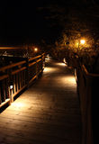 The Boardwalk at Vidanta Riviera Maya Royalty Free Stock Photo