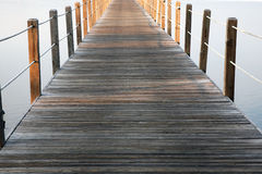 Boardwalk walkway Stock Images