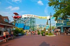 """Boardwalken"" på Hersheypark, PA royaltyfria bilder"