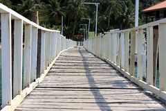 Boardwalks. Stock Photography