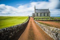 Boarhillkerk, Fife, Schotland Stock Afbeelding