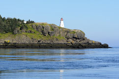 Boars Head Lighthouse. Built in 1864 in Tiverton Nova Scotia Canada Stock Photo