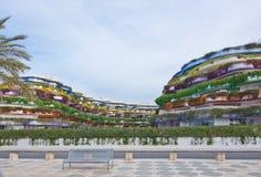 Boas de Ibiza building Stock Image