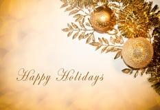 Boas festas cartão Imagem de Stock Royalty Free