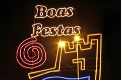 Boas Festas - Happy holidays Stock Photography