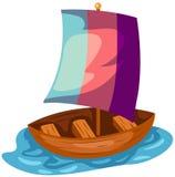 Boat royalty free illustration