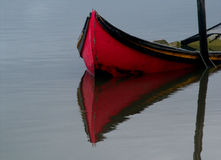Boat. Reflection Royalty Free Stock Photography