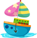 Boat royalty free illustration