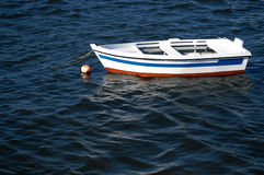 Boat. In the sea Stock Photos