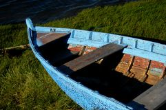 Boat. In land Royalty Free Stock Images