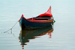 Boat. Moored Royalty Free Stock Image