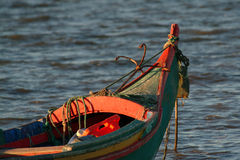 Boat. Moored Stock Image