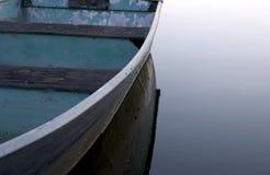 Boat. On lake stock photography