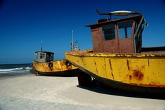 Boat. Fishing boat Stock Photo