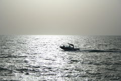 Boat. In arabian gulf stock photos