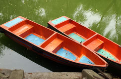 Boat. In the lake in china Royalty Free Stock Image