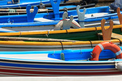 Boat abstraction Royalty Free Stock Photo