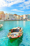 Boat. Agios Nikolaos Royalty Free Stock Photography