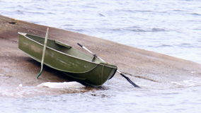 Boat alone Royalty Free Stock Image