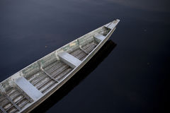 Boat on Amazon River Stock Photography
