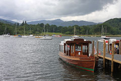 Boat at Ambleside Royalty Free Stock Images