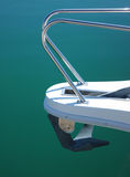 Boat anchor. Maritime deluxe boat anchor water royalty free stock image