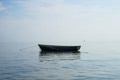 Boat at anchor Royalty Free Stock Photo