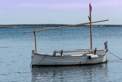 Boat anchored Royalty Free Stock Photography