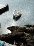 BOAT AT ANCHOUR Stock Photography